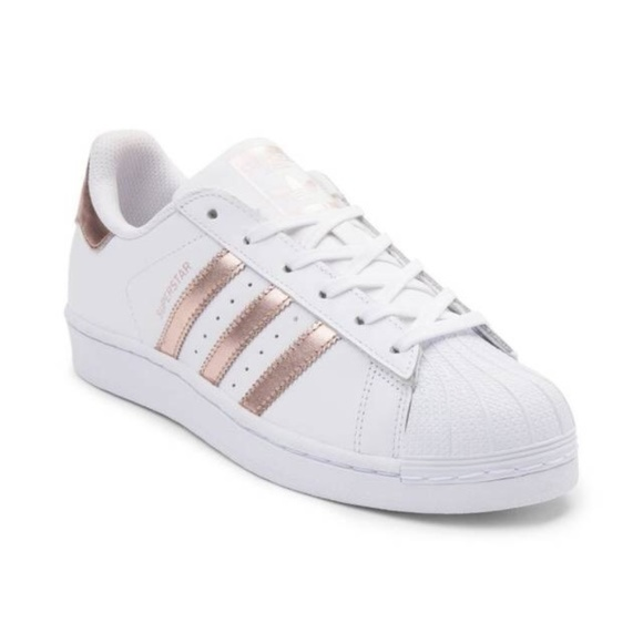 adidas superstar da donna rosa gold